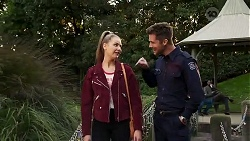 Chloe Brennan, Mark Brennan in Neighbours Episode 8188