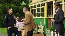 Mark Brennan, Karl Kennedy, Pierce Greyson in Neighbours Episode 8188