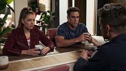 Chloe Brennan, Aaron Brennan, Mark Brennan in Neighbours Episode 8188