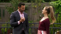 Pierce Greyson, Chloe Brennan in Neighbours Episode 8188