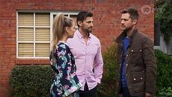 Chloe Brennan, Pierce Greyson, Mark Brennan in Neighbours Episode 8189