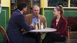 Pierce Greyson, Karl Kennedy, Chloe Brennan in Neighbours Episode 8189