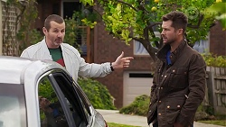 Toadie Rebecchi, Mark Brennan in Neighbours Episode 8189