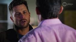Mark Brennan, Pierce Greyson in Neighbours Episode 8189