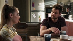 Chloe Brennan, Mark Brennan in Neighbours Episode 8190