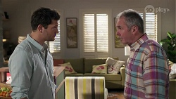 Finn Kelly, Karl Kennedy in Neighbours Episode 8190