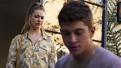 Chloe Brennan, Hendrix Greyson in Neighbours Episode 8190