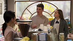Hendrix Greyson, Harlow Robinson in Neighbours Episode 8191