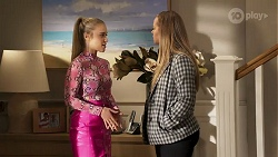 Roxy Willis, Harlow Robinson in Neighbours Episode 8191