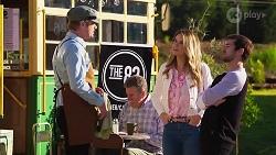 Gary Canning, Scarlett Brady, Ned Willis in Neighbours Episode 8193