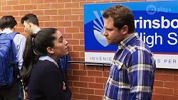 Yashvi Rebecchi, Shane Rebecchi in Neighbours Episode 8193