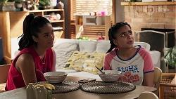 Yashvi Rebecchi, Kirsha Rebecchi in Neighbours Episode 8194