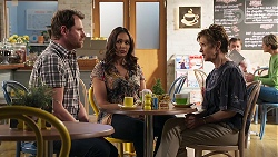 Shane Rebecchi, Dipi Rebecchi, Susan Kennedy in Neighbours Episode 8194