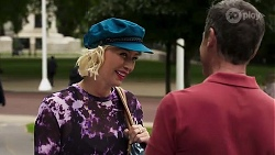Prue Wallace, Paul Robinson in Neighbours Episode 8195