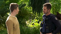 Hendrix Greyson, Mark Brennan in Neighbours Episode 8195
