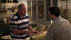 Karl Kennedy, Finn Kelly in Neighbours Episode 8195