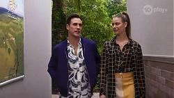 Aaron Brennan, Chloe Brennan in Neighbours Episode 8196