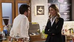 Ned Willis, Scarlett Brady in Neighbours Episode 8196