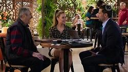 Karl Kennedy, Chloe Brennan, Pierce Greyson in Neighbours Episode 8196