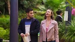David Tanaka, Amy Williams in Neighbours Episode 8196