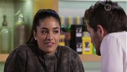 Yashvi Rebecchi, Ned Willis in Neighbours Episode 8196