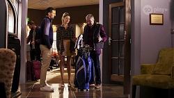 Pierce Greyson, Chloe Brennan, Karl Kennedy in Neighbours Episode 8196