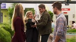 Chloe Brennan, Sheila Canning, Gary Canning, Mark Brennan in Neighbours Episode 8198