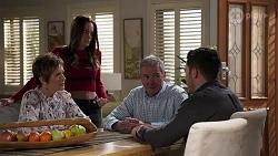 Susan Kennedy, Bea Nilsson, Karl Kennedy, Shaun Watkins in Neighbours Episode 8198
