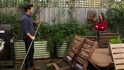 Finn Kelly, Bea Nilsson in Neighbours Episode 8198
