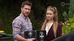 Mark Brennan, Chloe Brennan in Neighbours Episode 8198