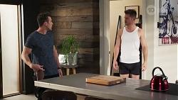 Aaron Brennan, Mark Brennan in Neighbours Episode 8199