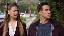 Chloe Brennan, Aaron Brennan in Neighbours Episode 8199