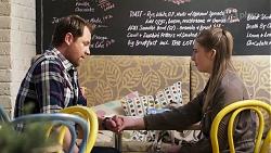 Shane Rebecchi, Mackenzie Hargreaves in Neighbours Episode 8200