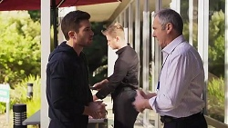 Ned Willis, Karl Kennedy in Neighbours Episode 8202