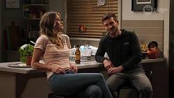 Scarlett Brady, Ned Willis in Neighbours Episode 8203
