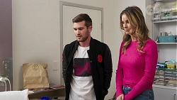 Ned Willis, Scarlett Brady in Neighbours Episode 8203