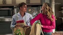 Kyle Canning, Scarlett Brady in Neighbours Episode 8203
