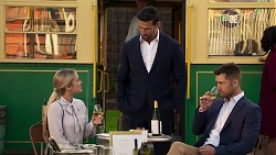 Roxy Willis, Pierce Greyson, Mark Brennan in Neighbours Episode 8204