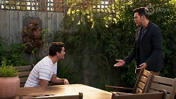 Finn Kelly, Shaun Watkins in Neighbours Episode 8204