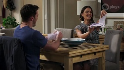 Shaun Watkins, Elly Conway in Neighbours Episode 8204