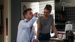 Mark Brennan, Chloe Brennan in Neighbours Episode 8205