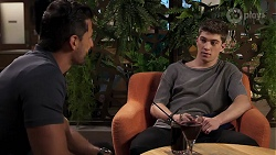 Pierce Greyson, Hendrix Greyson in Neighbours Episode 8206