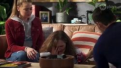 Chloe Brennan, Fay Brennan, Pierce Greyson in Neighbours Episode 8206