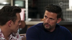 Aaron Brennan, Pierce Greyson in Neighbours Episode 8206