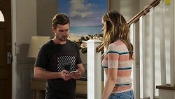 Ned Willis, Scarlett Brady in Neighbours Episode 8207