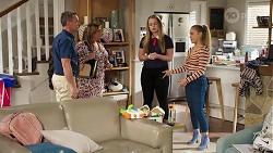 Paul Robinson, Terese Willis, Harlow Robinson, Roxy Willis in Neighbours Episode 8208