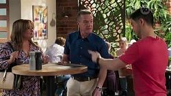 Terese Willis, Paul Robinson, David Tanaka in Neighbours Episode 8208