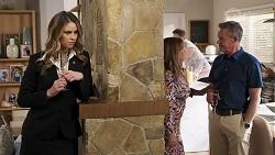 Scarlett Brady, Terese Willis, Paul Robinson in Neighbours Episode 8208