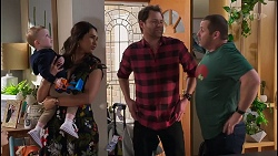 Hugo Somers, Dipi Rebecchi, Shane Rebecchi, Toadie Rebecchi in Neighbours Episode 8209
