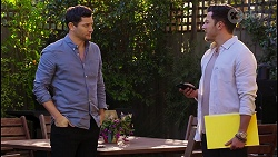 Finn Kelly, Shaun Watkins in Neighbours Episode 8209